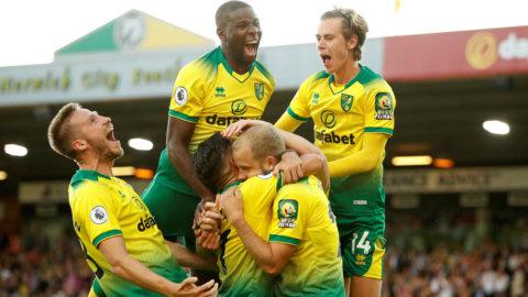 Norwich vann mot City – inför kokande hemmapublik