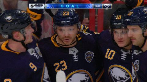 Buffalo närmar sig – Reinhart gör sitt andra för kvällen