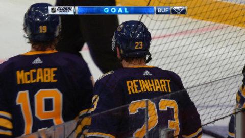 Domaren ändrar sitt beslut – Buffalo reducerar matchen