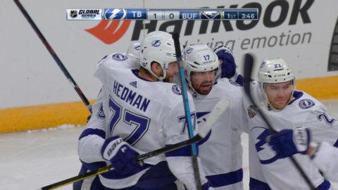 Hedman lossar bössan – Killorn styr in 2-0-målet