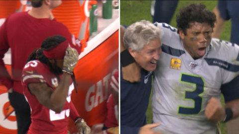 Otroliga scener: Seahawks avgör i matchens sista sekund