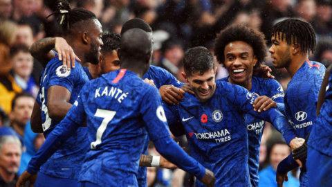 Sjätte raka ett faktum - Chelsea hemmasegrade mot Crystal Palace