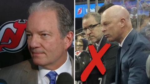 KLART: Devils sparkar Hynes – klubbens general manager uttalar sig