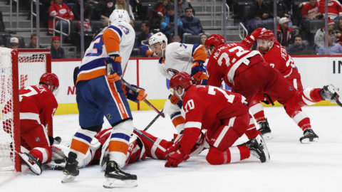 Red Wings föll tungt mot Islanders – åttonde raka förlusten