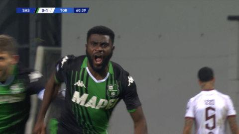Höjdpunkter: Bogas drömmål la grunden för Sassuolos vändning mot Torino