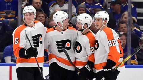 Höjdpunkter: Vorecek avgjorde på övertid när Flyers besegrade Blues
