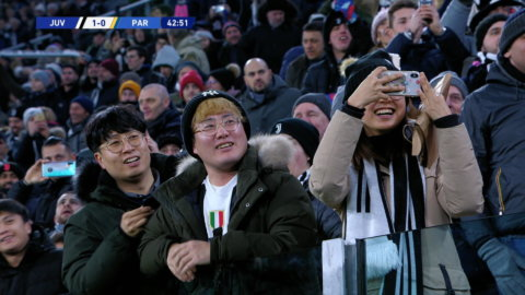 Ronaldo sätter dit 1-0 för Juventus mot Parma