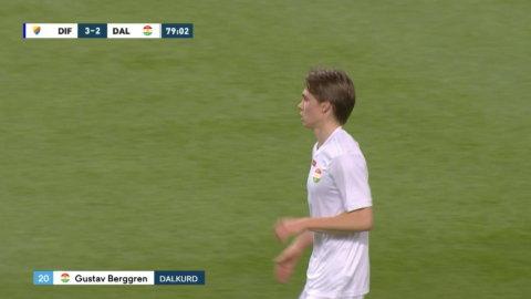 Dalkurd reducerar - Berggren målskytt mot Djurgården