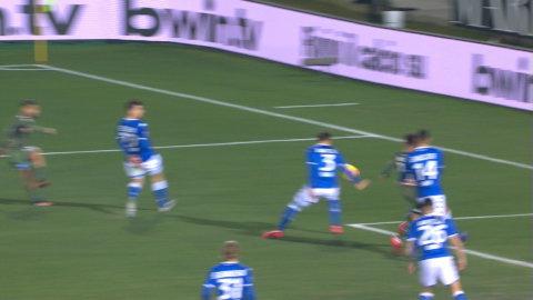 Insigne rullar in 1-1 för Napoli