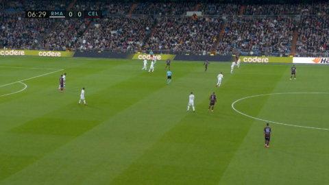 Smolov tystar Bernabéu - gör 1-0 för Celta Vigo