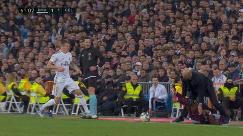 """Tidigare Bajen-backen tacklar ner Zidane: """"Det är en bra tackling av Aidoo"""""""