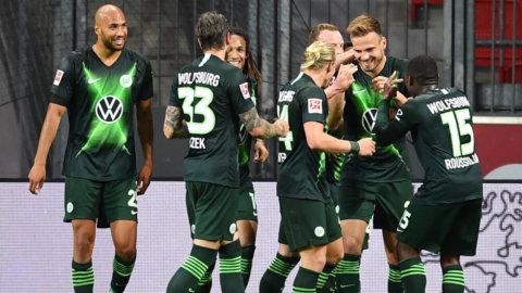 Busenkel seger för Wolfsburg – utklassade Leverkusen