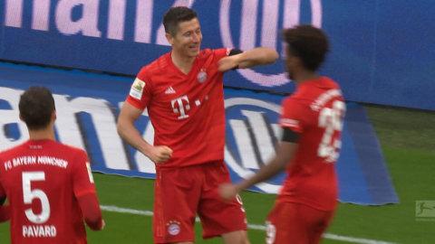 Lewandowski trycker dit 3-0 efter nytt strålande anfall