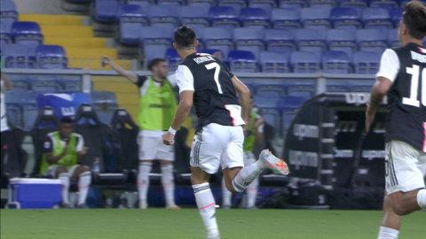 Ronaldo uttökar Juventus ledning med ett drömskott