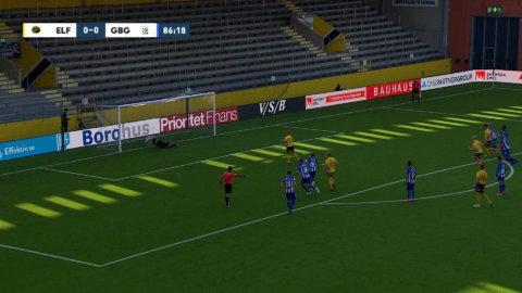 Anestis räddar Karlssons straff i slutminutrarna mot Elfsborg