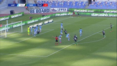 Caputo med sent mål mot Lazio