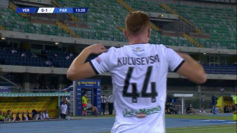 Höjdpunkter: Kulusevski målskytt när Parma föll mot Verona