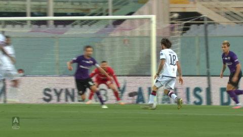 Höjdpunkter: Mållöst mellan Fiorentina och Cagliari