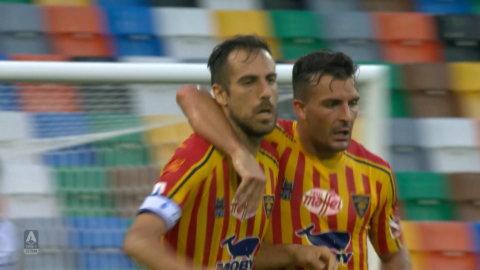 Höjdpunkter: Tung bortaseger för Lecce mot Udinese