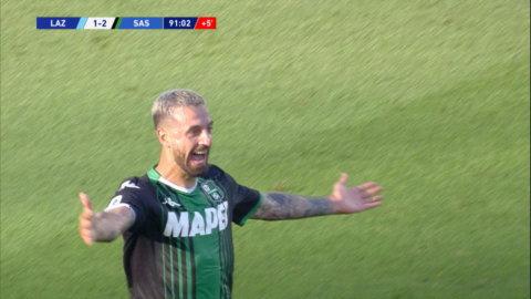 Höjdpunkter: Tungt poängtapp för Lazio mot Sassuolo