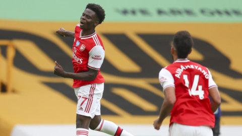 Jättelöftets första ligamål bäddade för Arsenals seger