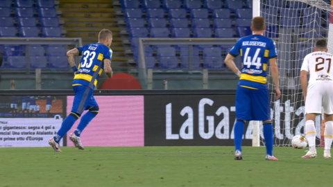 Kucka gör 1-0 på Roma