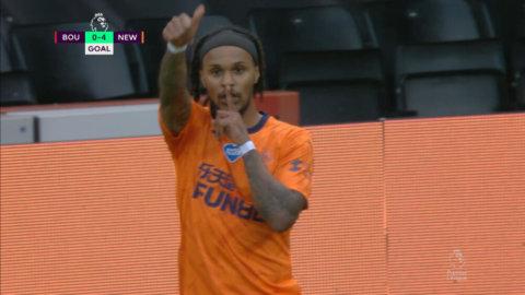 Lazaro avslutar säkert - sätter fyran för Newcastle