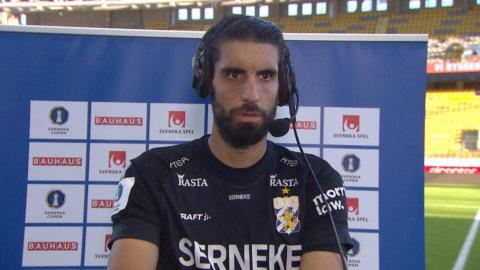 """Matchhjälten Anestis: """"Jag studerade Karlssons tidigare straffar"""""""