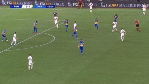 Mkhitaryan sätter 1-1 och kvitterar för Roma mot Parma