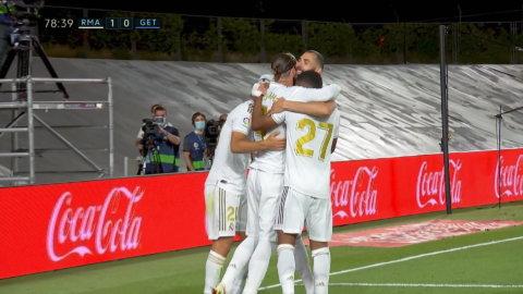 Ramos ger Real ledningen på straff