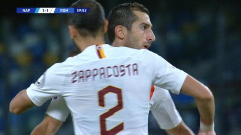 Roma kvitterar mot Napoli
