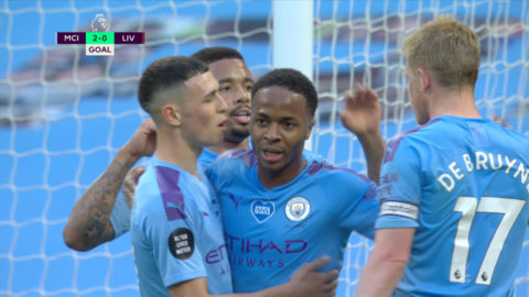 Sterling utökar för City efter sylvass kontring