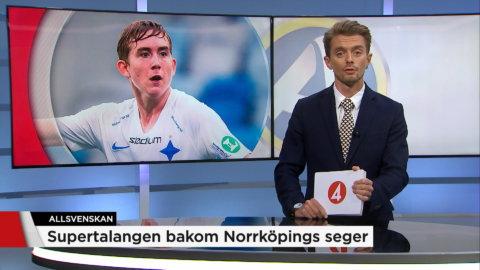 Supertalangen bakom Norrköpings seger