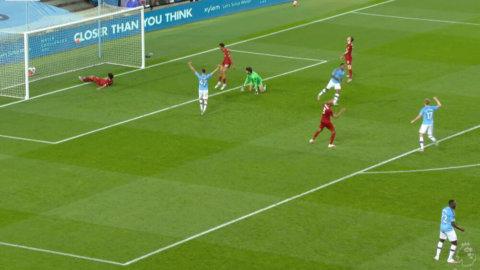 Total upprullning när City gör sitt fjärde mål i matchen
