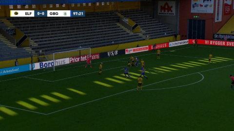 Wernersson sätter 1-0 för Blåvitt mot Elfsborg i förlängningen