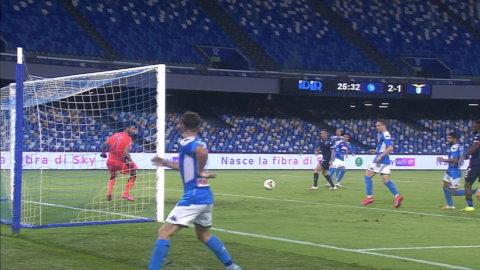 Höjdpunkter: Immobiles mål räckte inte hela vägen för Lazio