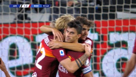 Höjdpunkter: Perotti tvåmålsskytt när Roma besegrade Juventus