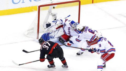 Rangers tog ny tung förlust - Svechnikov med hattrick