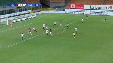 Zlatan bränner straff mot Cagliari