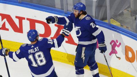 Alla poäng från Tampas stjärncenter under NHL-slutspelet