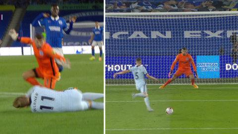 Chelsea i ledning – Werner ordnar straff som Jorginho sätter iskallt